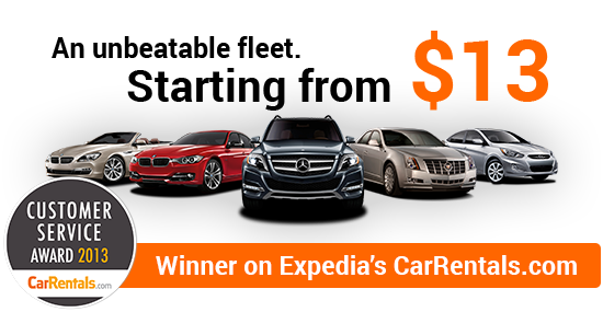 Sixt rent a car - Winner on Expedia's CarRentals.com
