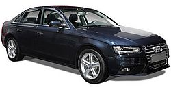 Audi A4 Prestige Car Black