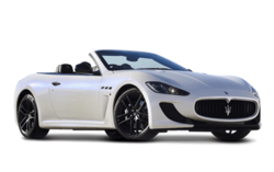 Maserati Grancabrio Luxury Vehicle White