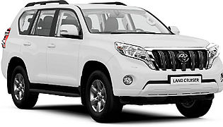Toyota Land Cruiser rental with Sixt