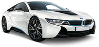 Rent an electric BMW i8