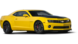 Cheverolet Camaro Sports Car Yellow