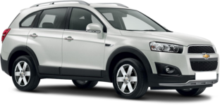 Rent a Chevrolet Captiva for a great price
