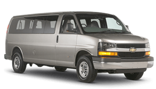 National Car Rental Van