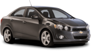 Rent a Chevrolet Sonic