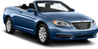 Sixt rent a car offers great deals on Chrysler 200 rental convertibles