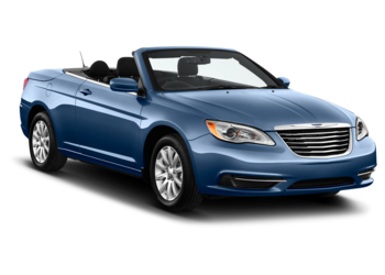 Rent a luxury Chrysler 200 Convertible from Sixt rental cars