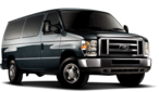 Rent a Ford E350 Wagon Passenger Van from Sixt