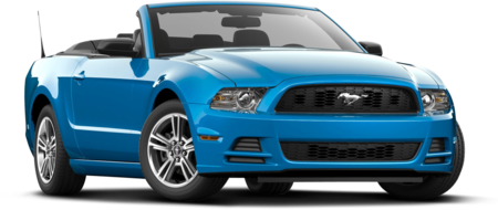 Ford Mustang Convertible rental with Sixt