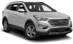 Rent a Hyundai Santa Fe for a great price