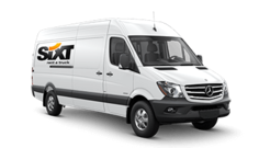 Mercedes benz sprinter van rental rent a sprinter with sixt for Mercedes benz sprinter rental price