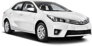 Rent a Toyota Corola with Sixt