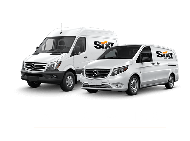 sixt location van. Black Bedroom Furniture Sets. Home Design Ideas