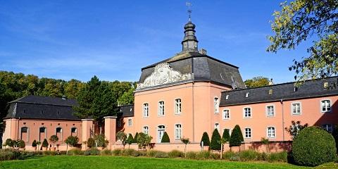 Castle Wickrath in Moenchengladbach