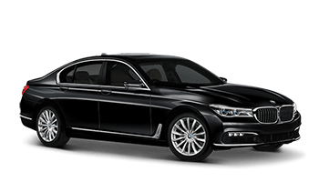 BMW 750 (with driver)