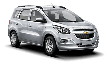 Chevrolet Spin 5 pax