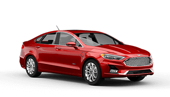 Ford Fusion (with driver)