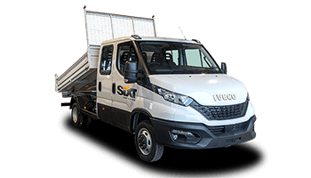 IVECO Daily 3.5t BENNE COFFRE DOUBLE CABINE