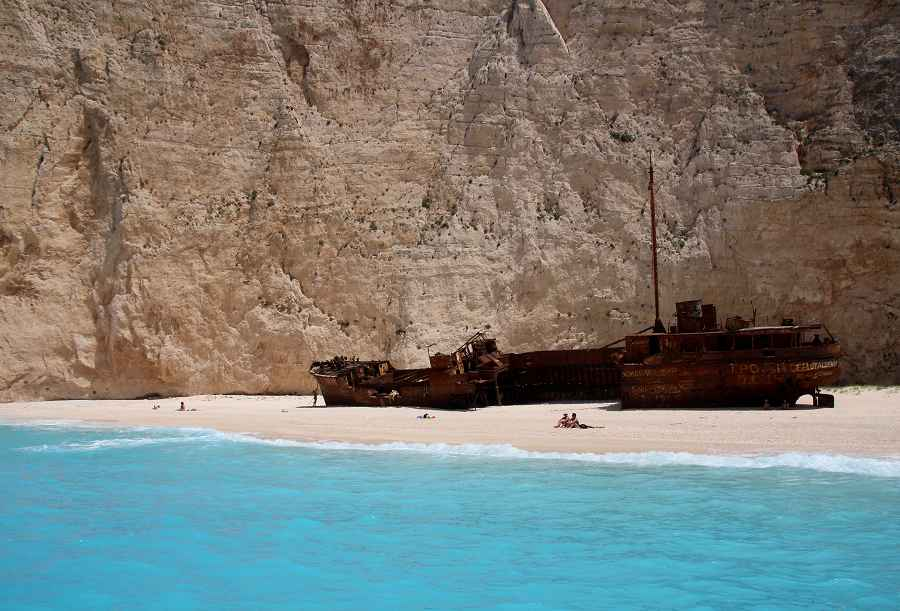 Shipwreck Beach Navagio, Greece
