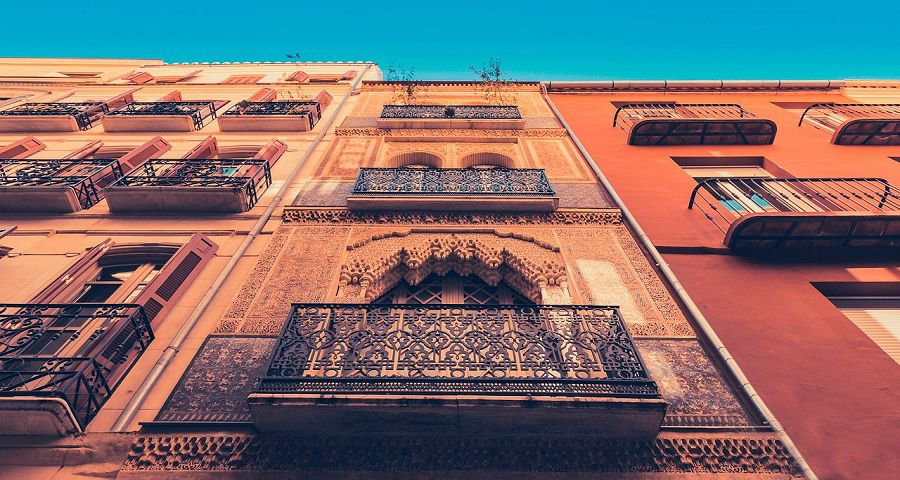 Beautiful architecture of Andalucia.