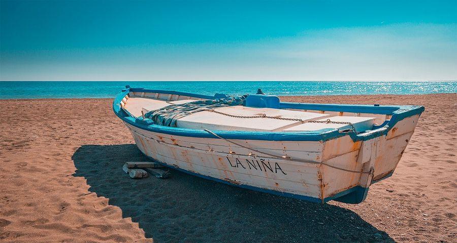 Coastal scene of Andalucia.