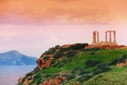 d'Athènes au cap Sounion