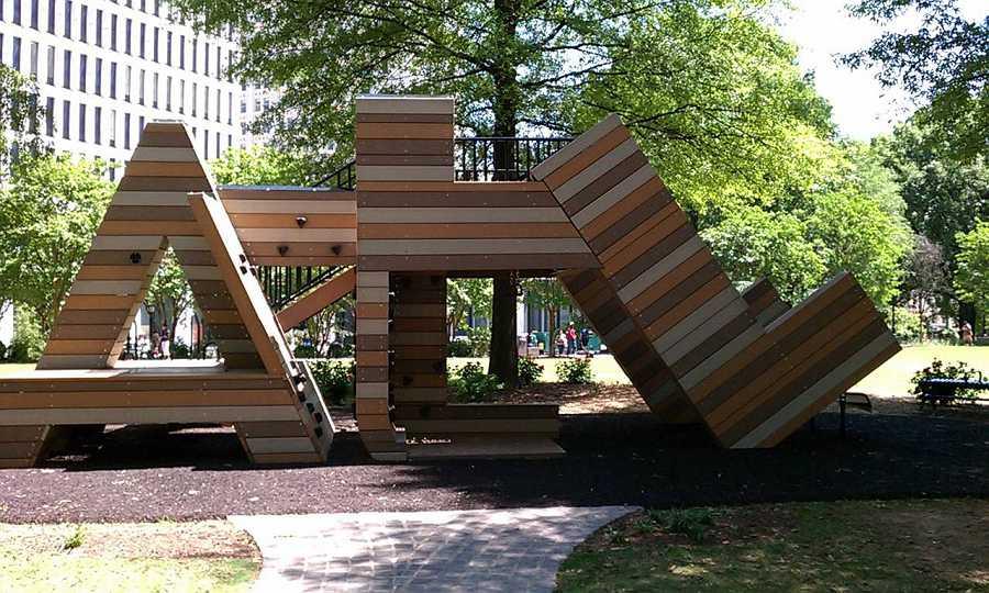 outdoor sculpture ATL