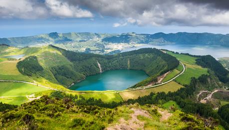 Açores, volcan Sete Cidades