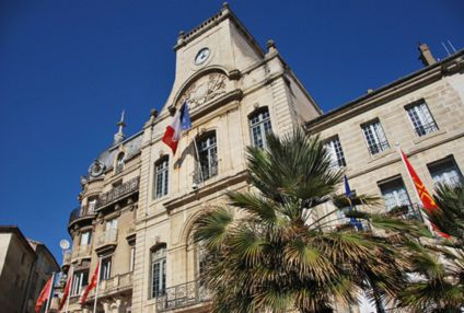 Town hall B�ziers