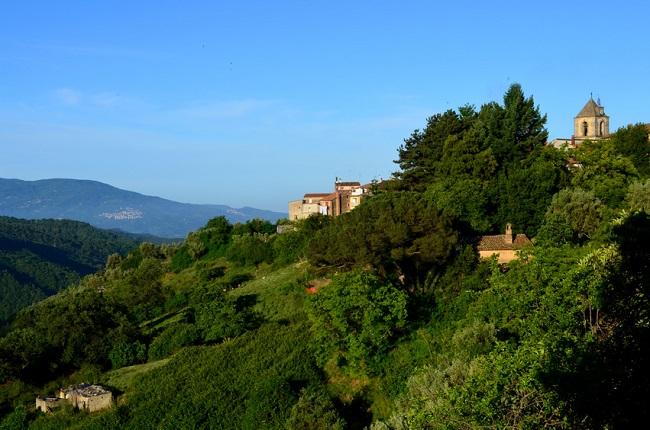 campagne autour de Cosenza