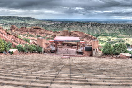 le parc Red Rocks près de Denver