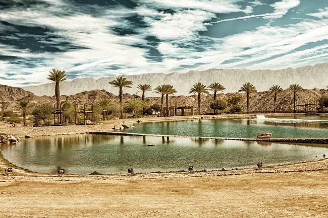 Eilat, lac Timna