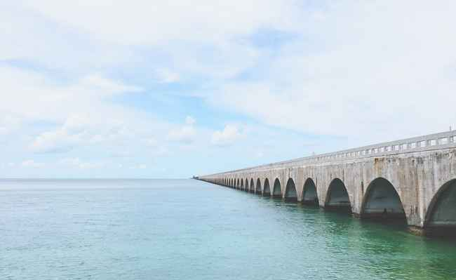 With your Sixt car rental you can drive to the Florida Keys.