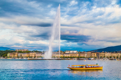 Geneva fountain
