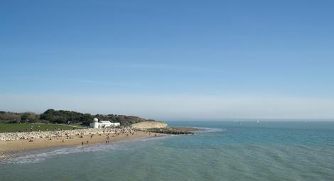 Plage Chef de Baie à La Rochelle