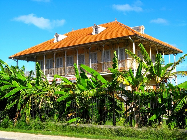 Maison Zévallos, Le Moule, Guadeloupe