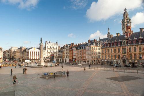 la place général De Gaulle à Lille
