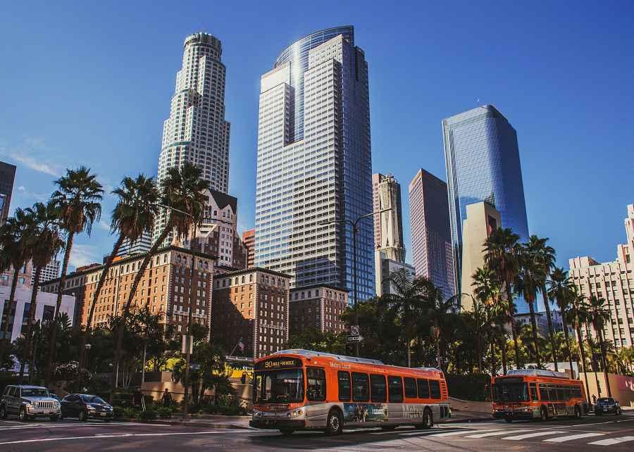 Downtown LA scene