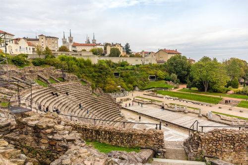 Roman amphitheatre in Lyon