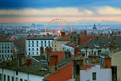 Rooftops of Lyon