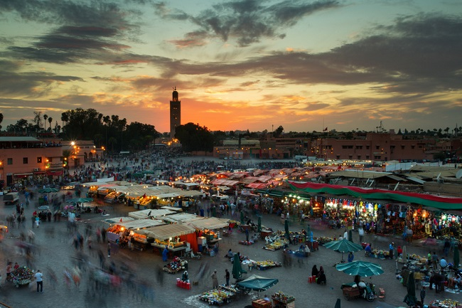 march� � Marrakech