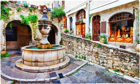 Nice, fontaine