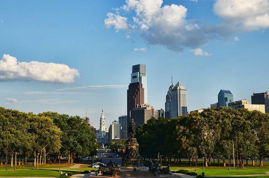 City view of Philadelphia