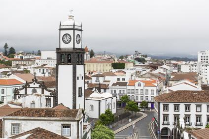 centre-ville de Ponta Delgada