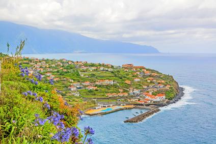 vue sur Ponta Delgada