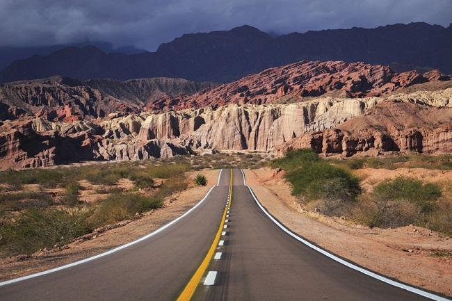 route de desert, region de Salta