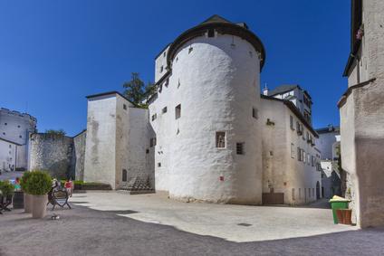 Innenhof der Festung Hohensalzburg