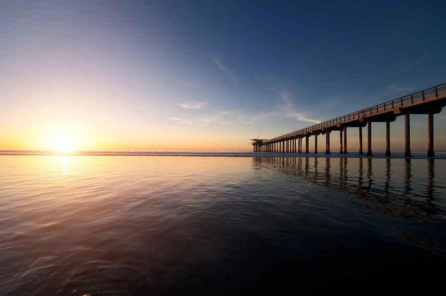Scripps pier San Diego
