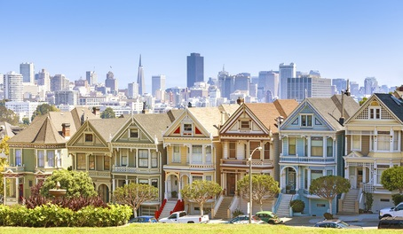 San Francisco Painted Ladies Häuser
