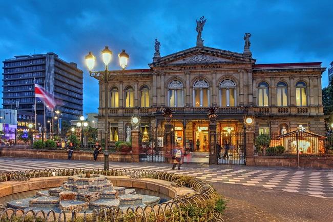 théâtre national du Costa Rica à San José